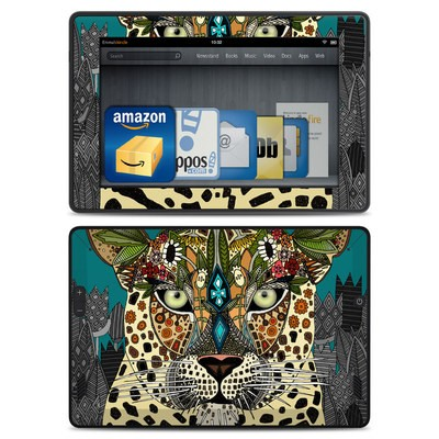 Amazon Kindle Fire HD Skin - Leopard Queen