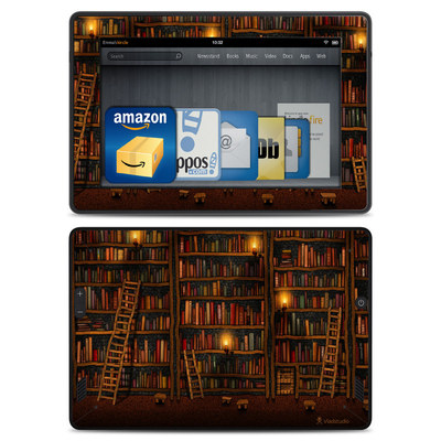 Amazon Kindle Fire HD Skin - Library