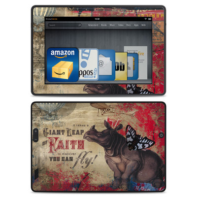 Amazon Kindle Fire HD Skin - Leap Of Faith
