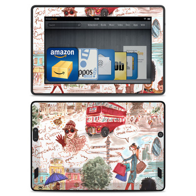 Amazon Kindle Fire HD Skin - London