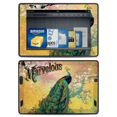 Amazon Kindle Fire HD Skin - Marvelous