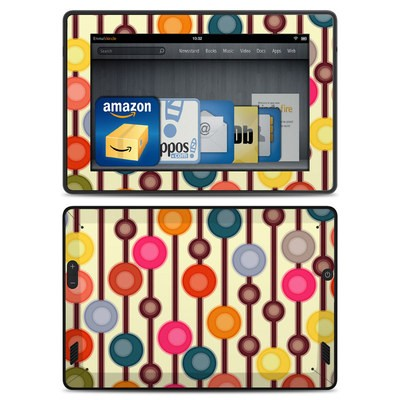 Amazon Kindle Fire HD Skin - Mocha Chocca