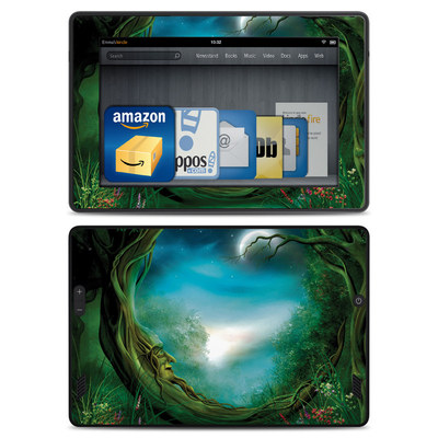 Amazon Kindle Fire HD Skin - Moon Tree