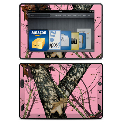 Amazon Kindle Fire HD Skin - Break-Up Pink