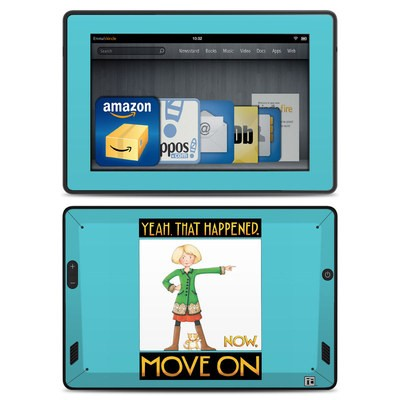 Amazon Kindle Fire HD Skin - Move On