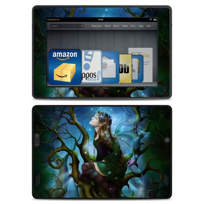 Amazon Kindle Fire HD Skin - Nightshade Fairy