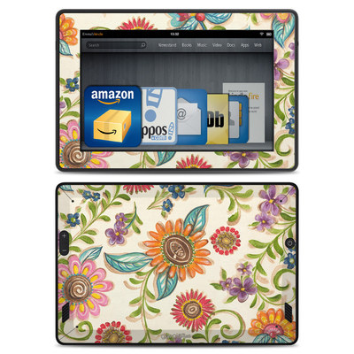 Amazon Kindle Fire HD Skin - Olivia's Garden