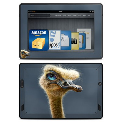 Amazon Kindle Fire HD Skin - Ostrich Totem