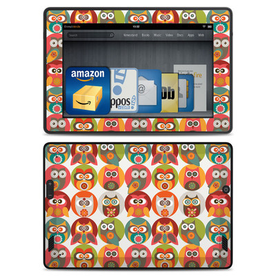 Amazon Kindle Fire HD Skin - Owls Family