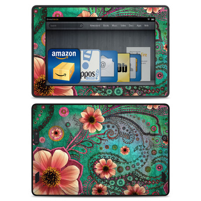 Amazon Kindle Fire HD Skin - Paisley Paradise