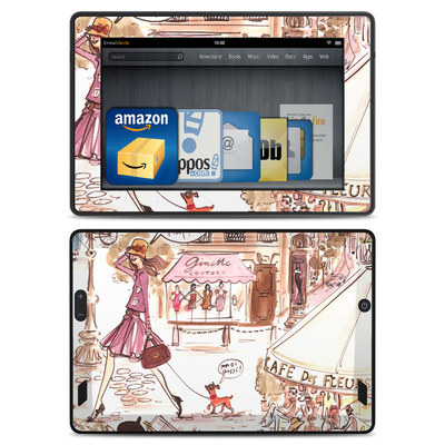 Amazon Kindle Fire HD Skin - Paris Makes Me Happy