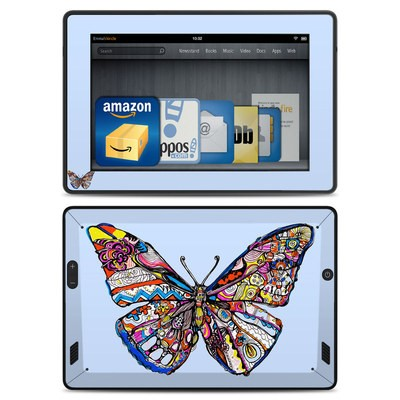 Amazon Kindle Fire HD Skin - Pieced Butterfly