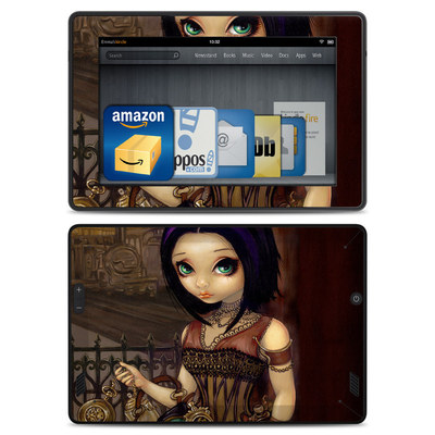 Amazon Kindle Fire HD Skin - Poe