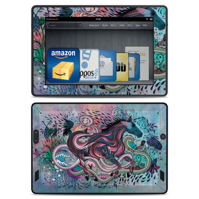 Amazon Kindle Fire HD Skin - Poetry in Motion