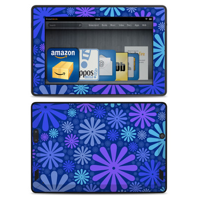 Amazon Kindle Fire HD Skin - Indigo Punch