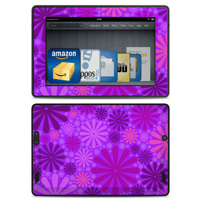 Amazon Kindle Fire HD Skin - Purple Punch