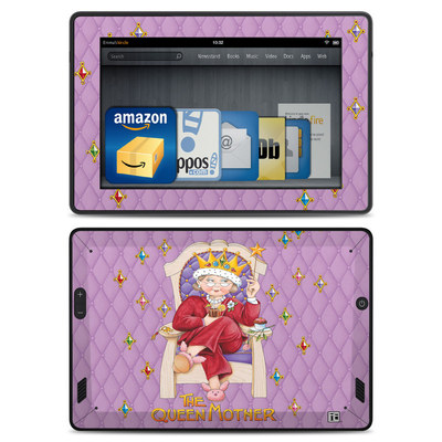 Amazon Kindle Fire HD Skin - Queen Mother