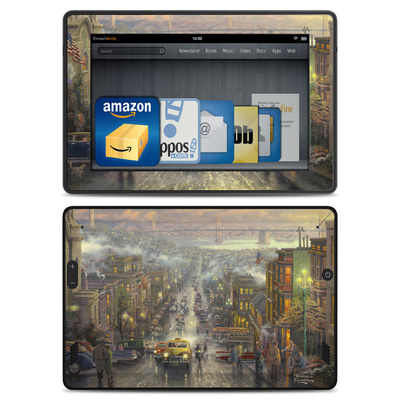 Amazon Kindle Fire HD Skin - Heart of San Francisco