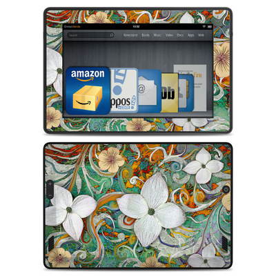 Amazon Kindle Fire HD Skin - Sangria Flora
