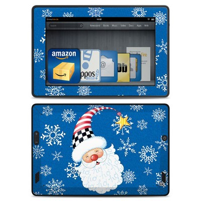 Amazon Kindle Fire HD Skin - Santa Snowflake