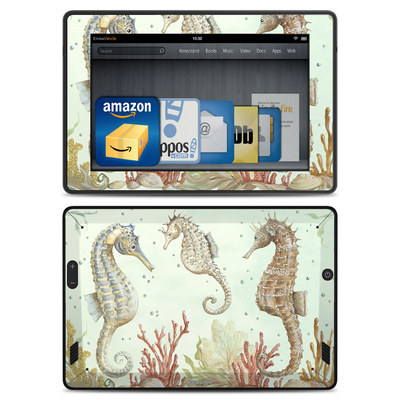 Amazon Kindle Fire HD Skin - Seahorse Trio