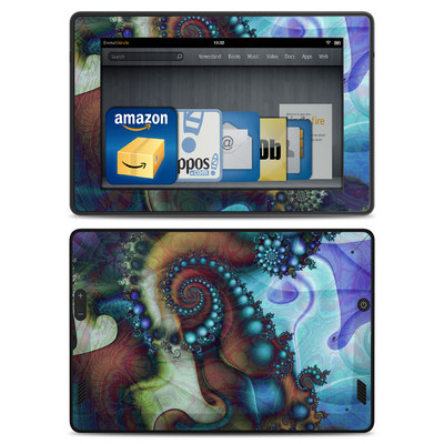 Amazon Kindle Fire HD Skin - Sea Jewel