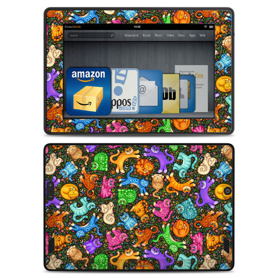 Amazon Kindle Fire HD Skin - Sew Catty