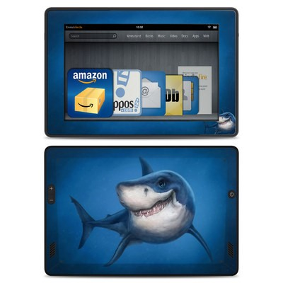 Amazon Kindle Fire HD Skin - Shark Totem