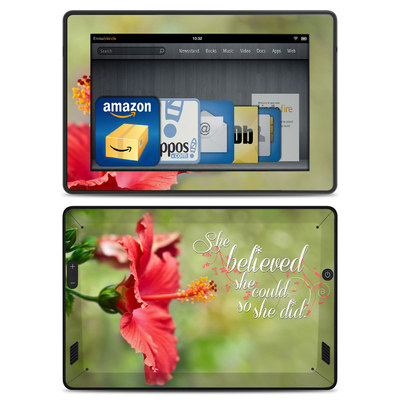 Amazon Kindle Fire HD Skin - She Believed