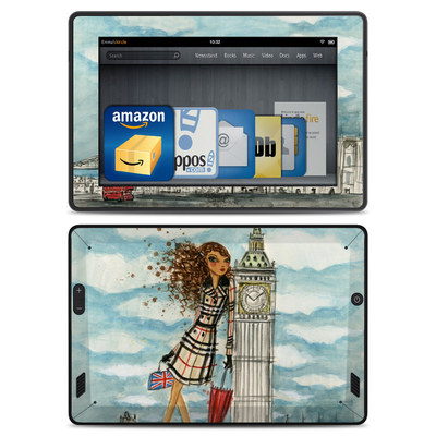 Amazon Kindle Fire HD Skin - The Sights London