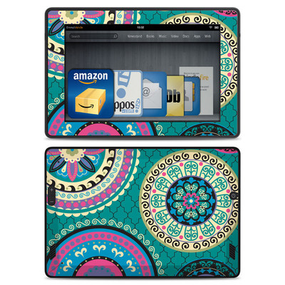 Amazon Kindle Fire HD Skin - Silk Road