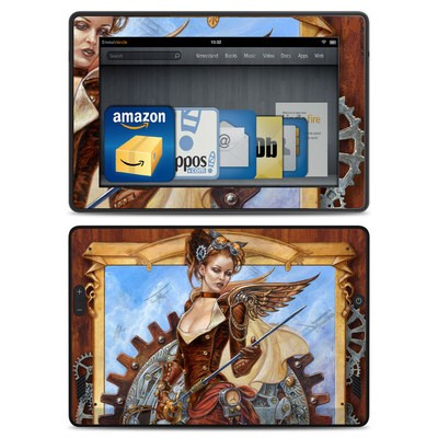 Amazon Kindle Fire HD Skin - Steam Jenny