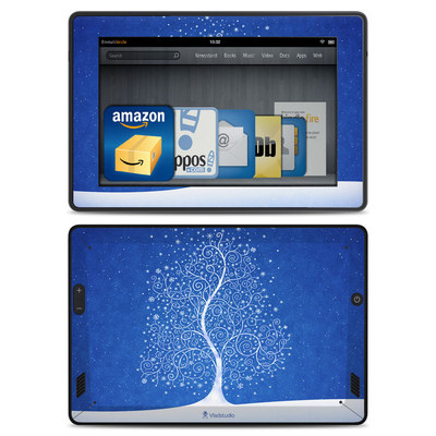 Amazon Kindle Fire HD Skin - Snowflakes Are Born