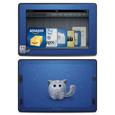 Amazon Kindle Fire HD Skin - Snow Leopard