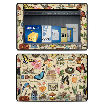 Amazon Kindle Fire HD Skin - Spring All