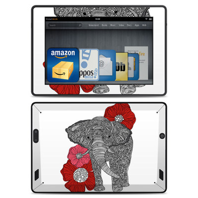 Amazon Kindle Fire HD Skin - The Elephant