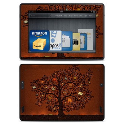 Amazon Kindle Fire HD Skin - Tree Of Books