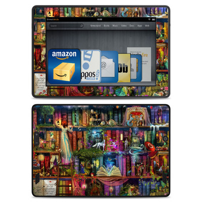 Amazon Kindle Fire HD Skin - Treasure Hunt