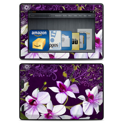 Amazon Kindle Fire HD Skin - Violet Worlds