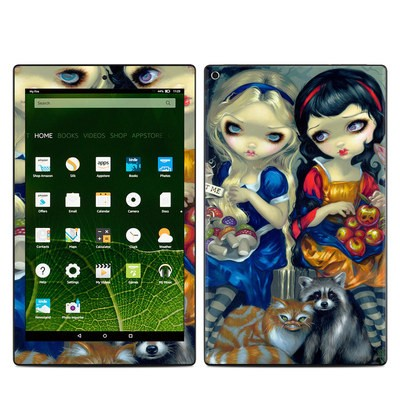 Amazon Kindle Fire HD10 2015 Skin - Alice & Snow White