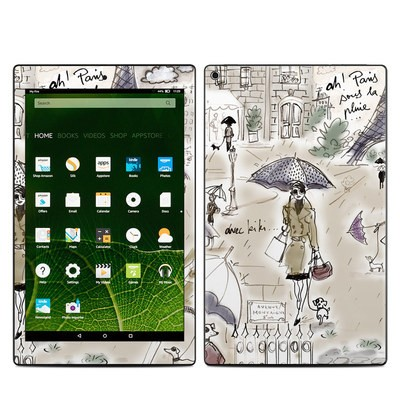 Amazon Kindle Fire HD10 2015 Skin - Ah Paris