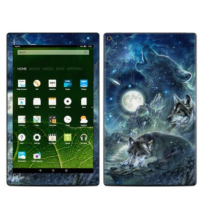 Amazon Kindle Fire HD10 2015 Skin - Bark At The Moon