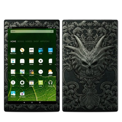Amazon Kindle Fire HD10 2015 Skin - Black Book