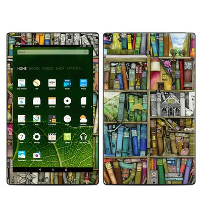 Amazon Kindle Fire HD10 2015 Skin - Bookshelf