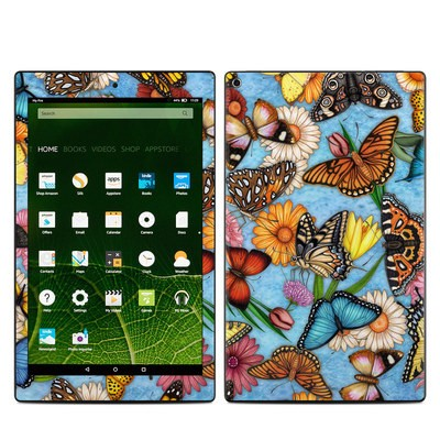 Amazon Kindle Fire HD10 2015 Skin - Butterfly Land