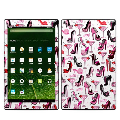 Amazon Kindle Fire HD10 2015 Skin - Burly Q Shoes