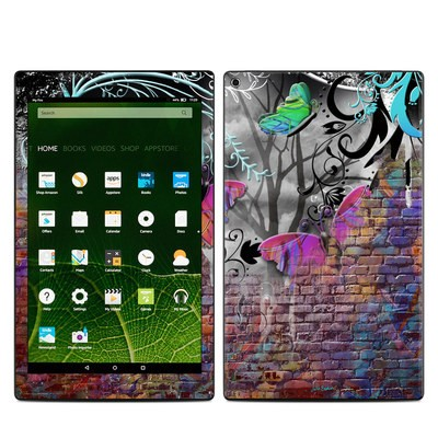 Amazon Kindle Fire HD10 2015 Skin - Butterfly Wall