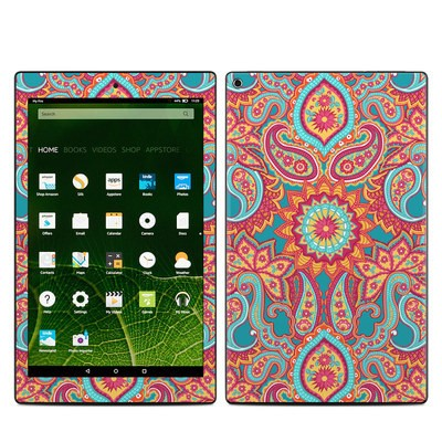 Amazon Kindle Fire HD10 2015 Skin - Carnival Paisley