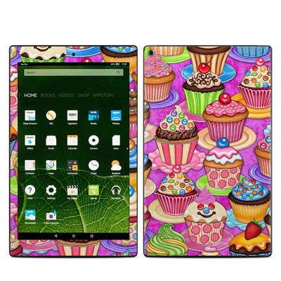 Amazon Kindle Fire HD10 2015 Skin - Cupcake
