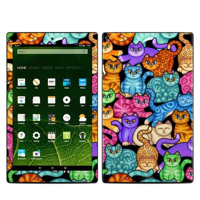 Amazon Kindle Fire HD10 2015 Skin - Colorful Kittens